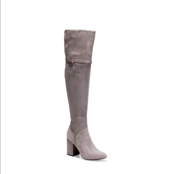 5735a02eef2 COLE HAAN Storm Cloud Darcia Over-the-Knee Boots